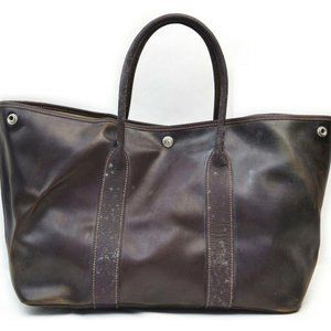 Auth Hermes Tote Bag Amazonia Rubber #N78491R75